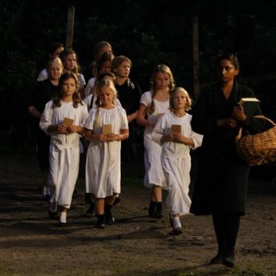 foto grenslicht schoolklasje