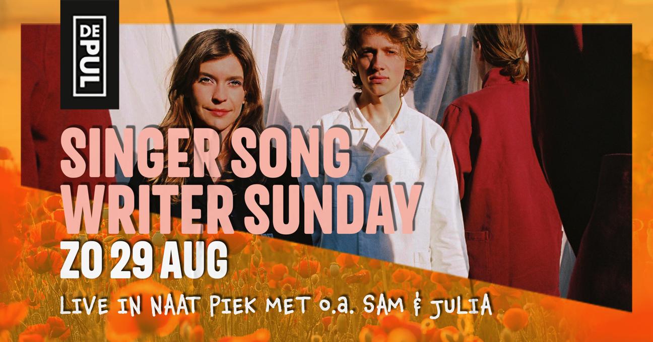 De Pul @ Naat Piek – SINGER SONGWRITER SUNDAY